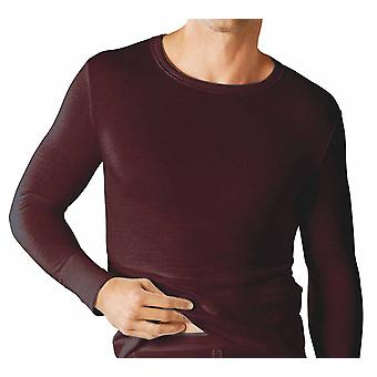 طبقة قاعدة رجالي الأكمام الطويلة الحرارية T قميص سترة حزمة الملابس الداخلية 2
