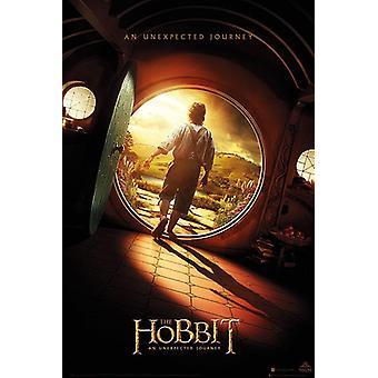 The Hobbit Poster Teaser Onesheet Größe Bilbo Beutlin (Martin Freeman)