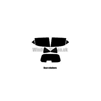 Pre cut ikkunasävy - Peugeot 207 Estate - 2006-2014 - takaikkunat