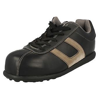 Unisex Magnum Steel Toe Cap Safety Shoes Hawk