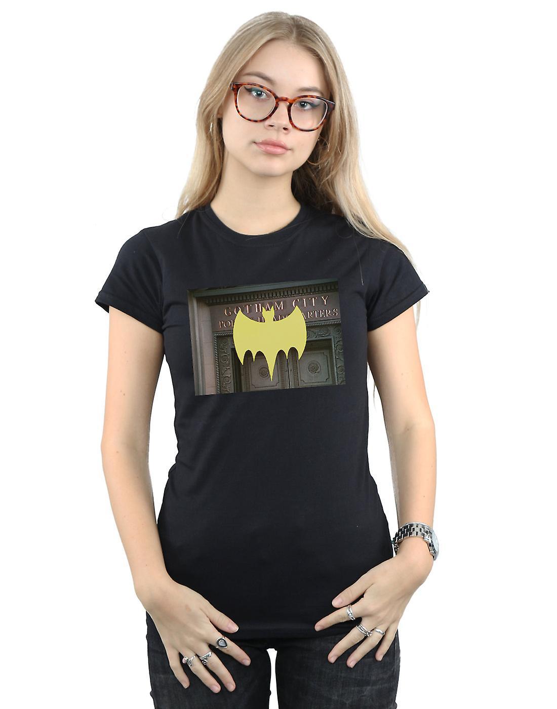 DC Comics Women's Batman TV Series Gotham City Police T-Shirt