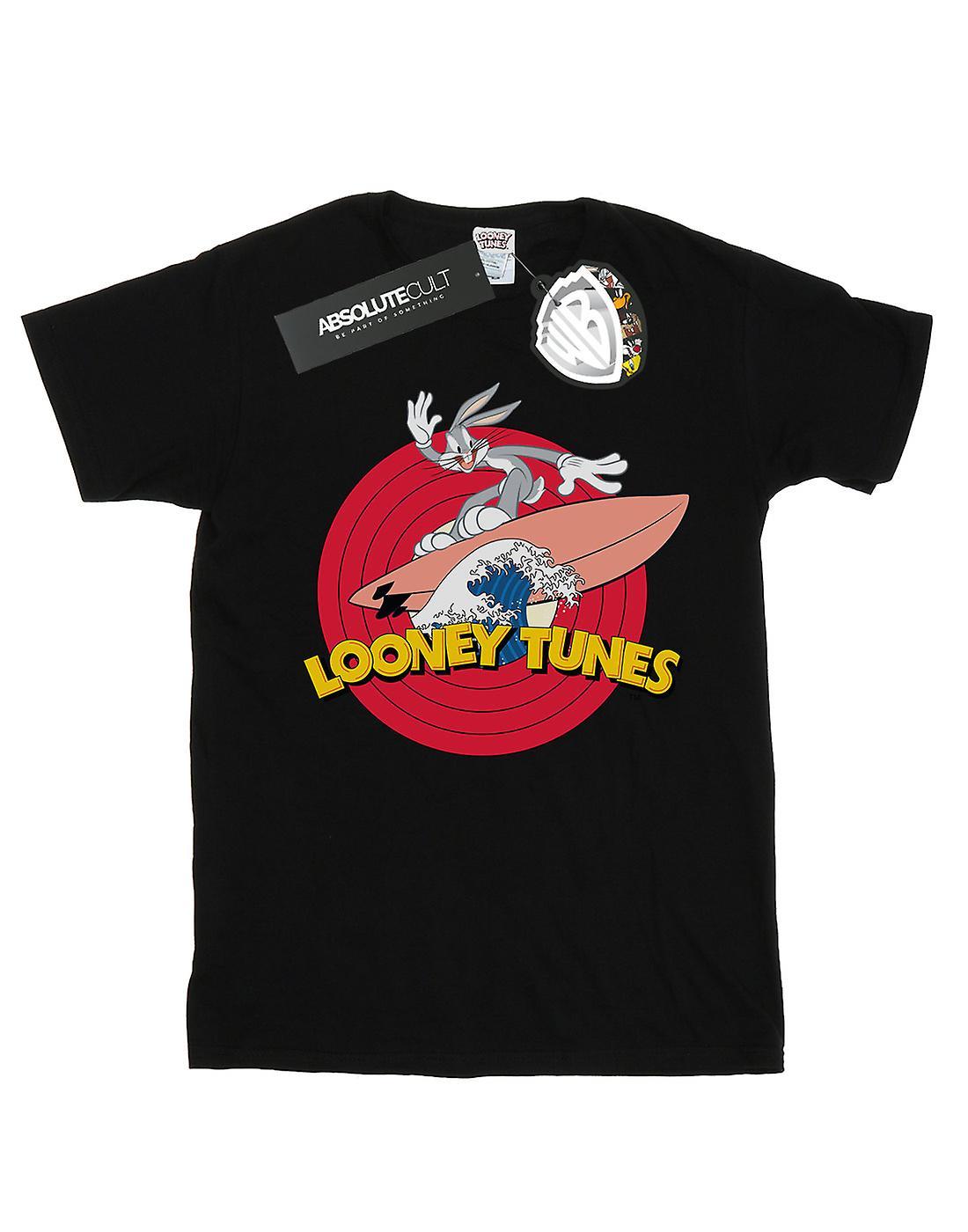 Looney Tunes Men's Bugs Bunny Surfing T-Shirt