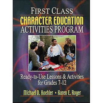 First Class karakter onderwijs activiteiten programma kant-en-klare Lesso
