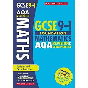 Maths Foundation Revision and�Exam Practice Book for AQA�(GCSE Grades 9-1)