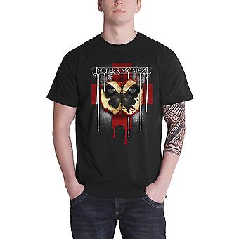 In This Moment T Shirt Rotten Apple Band logo new Official Mens Black
