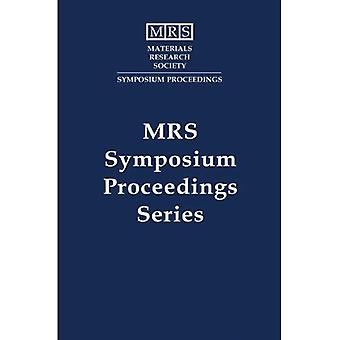 Amorphous Insulating Thin Films: Volume 284 (MRS Proceedings)