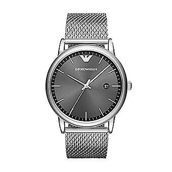 Emporio Armani men's Quartz analogue watch with stainless steel strap AR11069