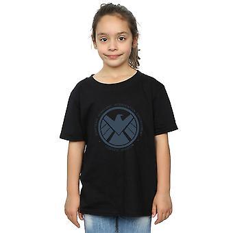 Marvel Mädchen Agenten der Schild Logistik Division T-Shirt