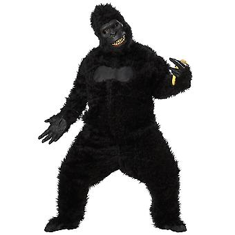 Goin Ape Gorilla Deluxe King Kong Animal Jungle Ani Motion Mens Costume One Size