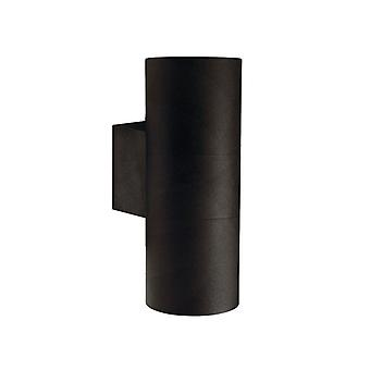 Tin Maxi  -  Black Double Cylinder Outdoor Up / Down Light  - Nordlux 21519903