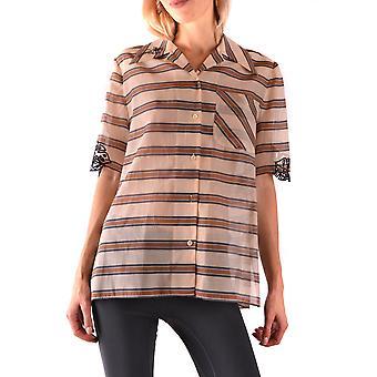 Fendi Ezbc009009 Kvinder's Flerfarvet bomuldsskjorte