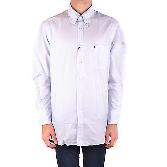 Ballantyne Ezbc099029 Men's White Cotton Shirt