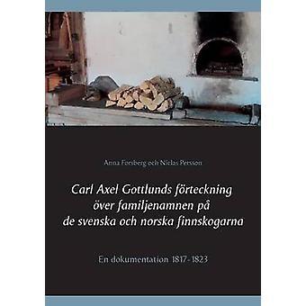 Carl Axel Gottlunds frteckning ver familjenamnen p de Svenska och norska finnskogarna by Forsberg & Anna