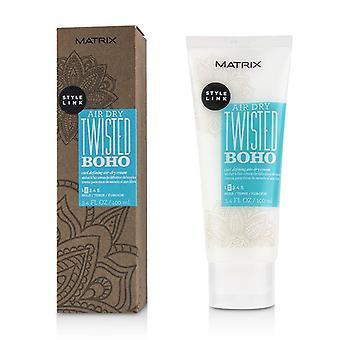 Matrix Style Link Air Dry Twisted Boho Curl Defining Air-dry Cream (hold 2) - 100ml/3.4oz