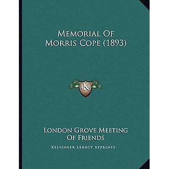 Memorial of Morris Cope (1893) by London Grove Meeting of Friends - 9
