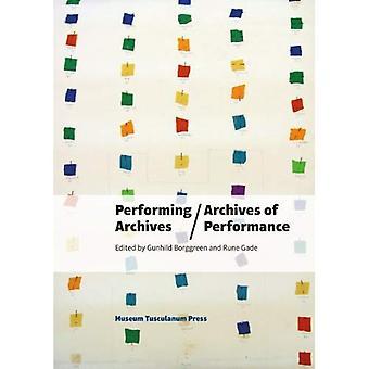 Udfører arkiver/arkiver af ydeevne