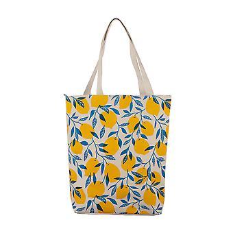 Puckator Lemons Cotton Bag