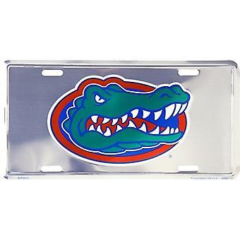 Florida Gators NCAA Silver Mirror rekisteri kilpi