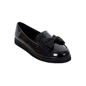 Flâneurs Chunky Sole Creeper School Dolly travail Bow Accent brevets chaussures dames