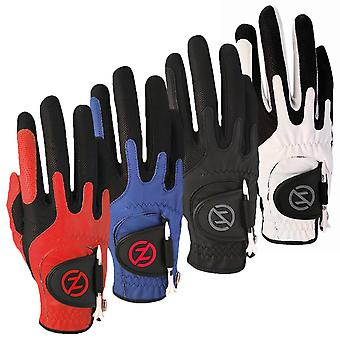 Zero Friction Mens Synth Right Hand Compression Golf Gloves