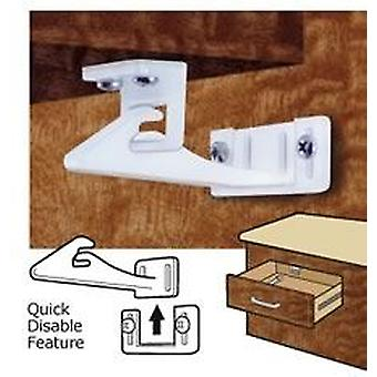 Mommy's Helper Safe-lok Cabinet Door & Drawer Lock New Disable Feature