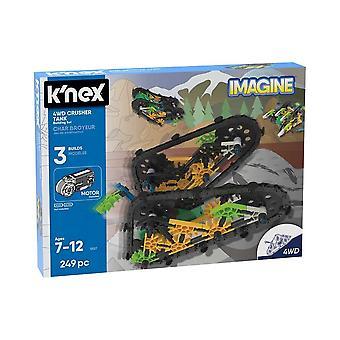 K'NEX Imagine 4WD Crusher Tank leketøy byggesett