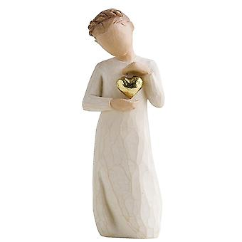 Willow Tree Keepsake Girl handbemalt Figur