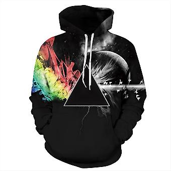 Allthemen Mens Fashion 3D Printed Hoodies Jacket