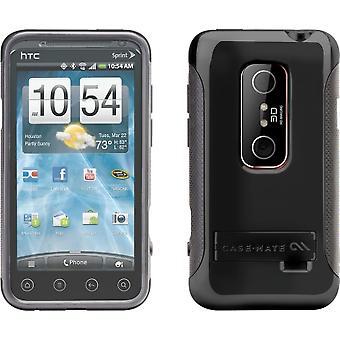 Case-Mate Pop! Case for HTC EVO 3D (Black/Grey)