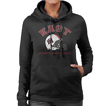 East Mississippi Community College Light Helmet Women's Hooded Sweatshirt
