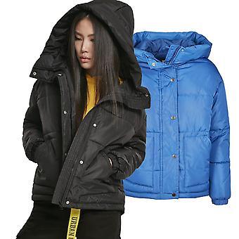 Urban Classics damer-oversized buffer hætteklædte vinterjakke