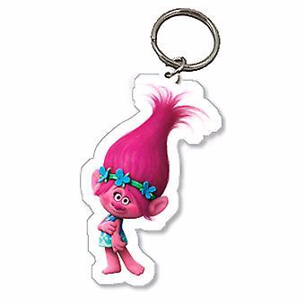 Trolls Childrens/Kids Official Poppy Character Keyring