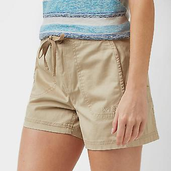 New Weird Fish Women's Willoughby Summer Shorts Beige