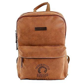 Coronel Tapiocca Mochila Hunter Coronel Tapioca - Men's Backpack - (Marr n) - 10x40x27 centimeters (W x H x L)