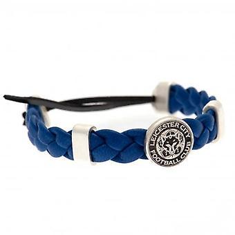 Leicester City PU Slider Bracelet