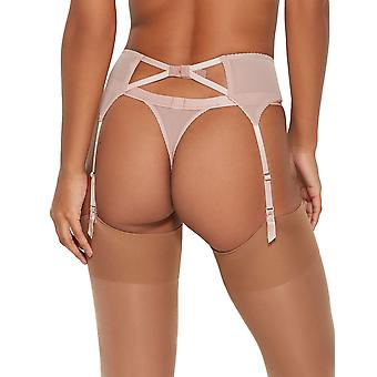 Gossard 16202 Women's VIP Chicago Wood Rose Pink Suspender Belt