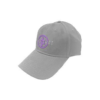 Prenez que Baseball Cap TT Band Logo nouveau sangle gris officiel