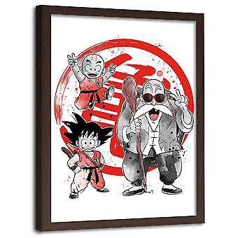 Picture In Brown Frame, Manga Little Warriors