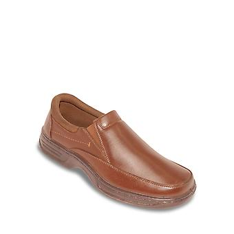 Cushion Walk Mens Wide Fit Slip On Shoe With Gel Pad