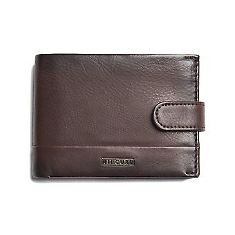 Rip Curl Horizons PU Clip All Day Faux Leather Wallet in Cognac
