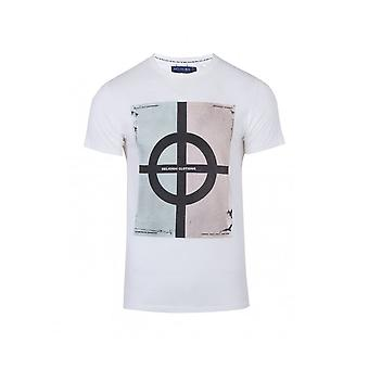Religion Clothing Religion Legionnaires Straight Hem Tee White