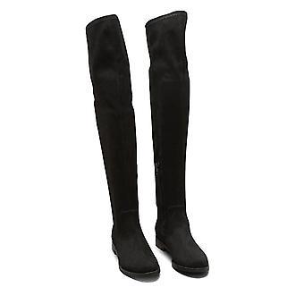 Kenneth Cole reação Womens vento fechado Toe por joelho moda botas