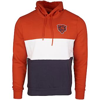 New Era COLOUR BLOCK Hoody - NFL Chicago Bears