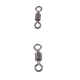 Swimerz Rolling Swivels Black Nickel 40 Pack