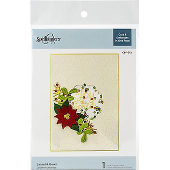 Spellbinders Laurel & Bows Cut & Emboss Folder