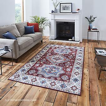 Topaz rood tapijt