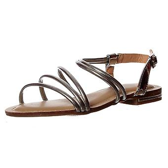 Onlineshoe Flat Summer Dress Sandal - Embellished Finish