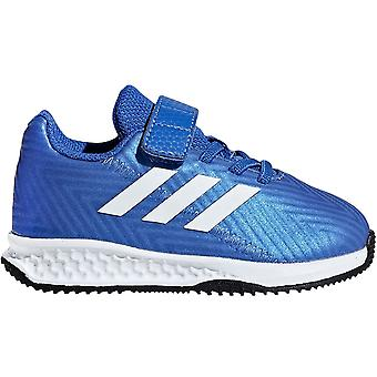 adidas Performance Boys Rapida Turf Nemeziz Laces Hook And Loop Trainers - Blue