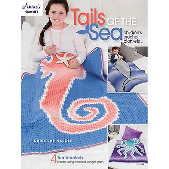 Tails of the Sea Childrens Crochet Blankets  4 Fun Blankets Using WorstedWeight Yarn by Christine Naugle