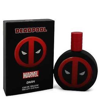 Deadpool Dark By Marvel Eau De Toilette Spray 3.4 Oz (men) V728-547937